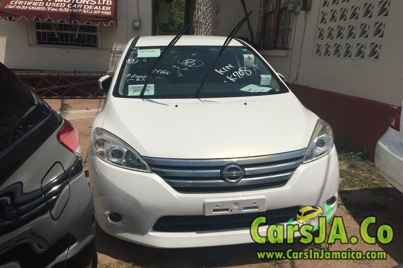 2012 Nissan Lafesta (White) for Sale In Jamaica