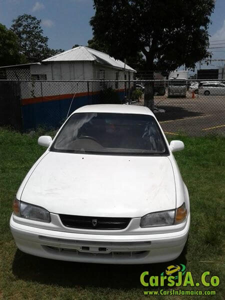 1996 toyota corolla 110 for sale in jamaica. Black Bedroom Furniture Sets. Home Design Ideas