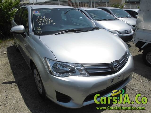 2014 toyota corolla axio 2wd for sale in jamaica. Black Bedroom Furniture Sets. Home Design Ideas