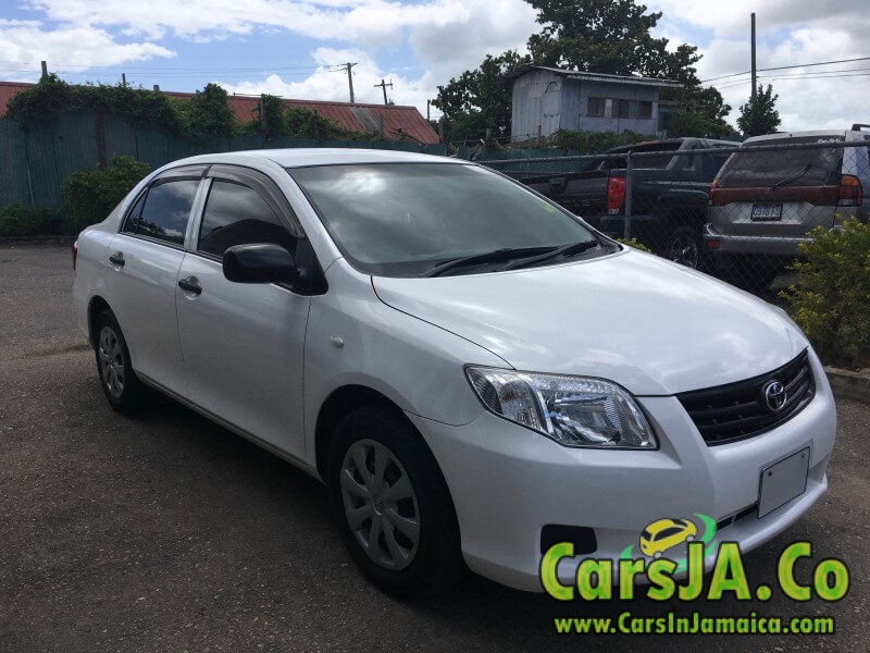 2012 toyota corolla axio for sale in jamaica. Black Bedroom Furniture Sets. Home Design Ideas