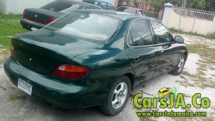 1997 Hyundai Elantra For Sale In Jamaica