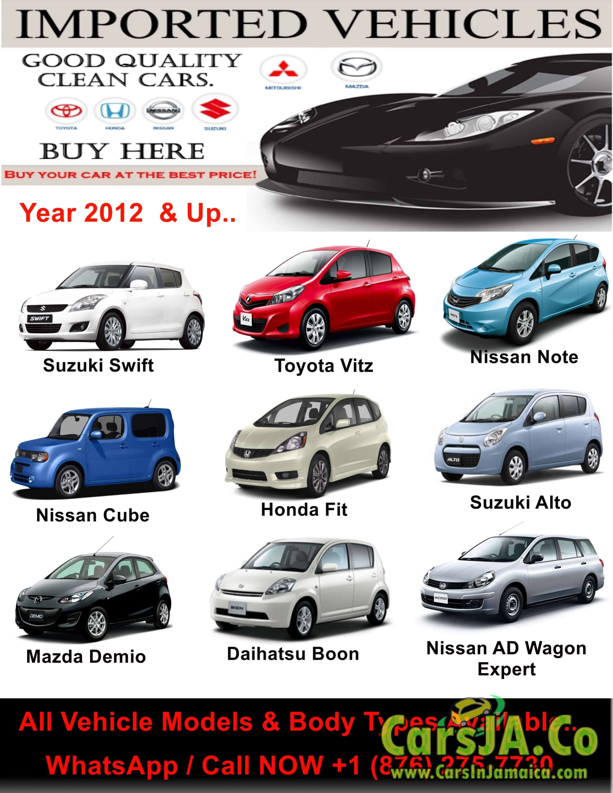 Nissan for in jamaica carsja co for Jamaica customs duty on motor vehicles