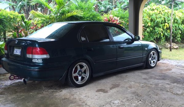 1998 honda civic ek3 for sale in jamaica. Black Bedroom Furniture Sets. Home Design Ideas