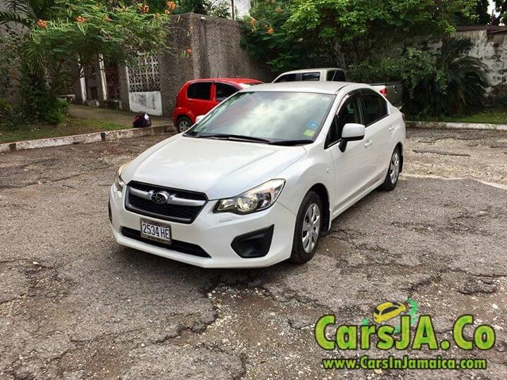 2014 subaru impreza g4 for sale in jamaica. Black Bedroom Furniture Sets. Home Design Ideas