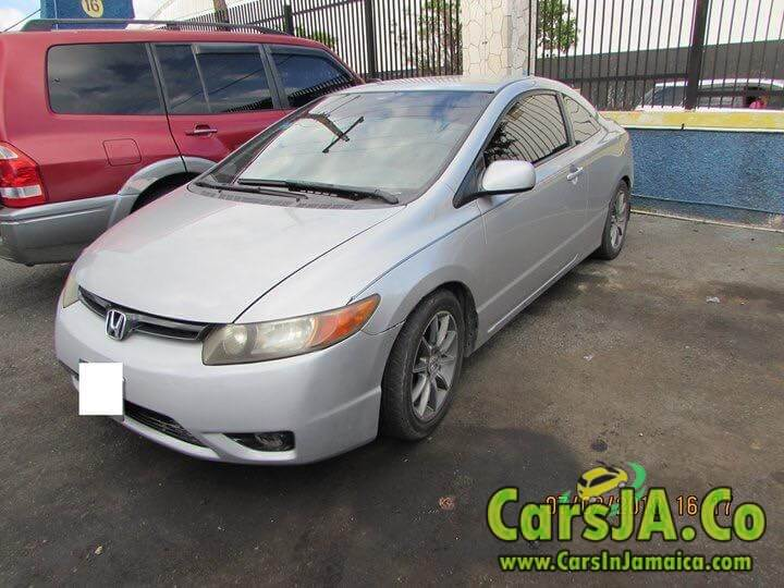 2007 honda civic coupe for sale in jamaica. Black Bedroom Furniture Sets. Home Design Ideas
