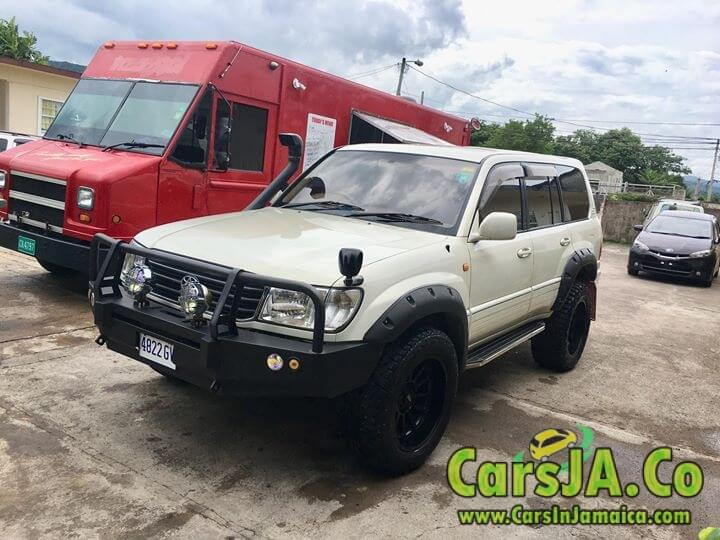 1999 Toyota Land Cruiser for Sale In Jamaica
