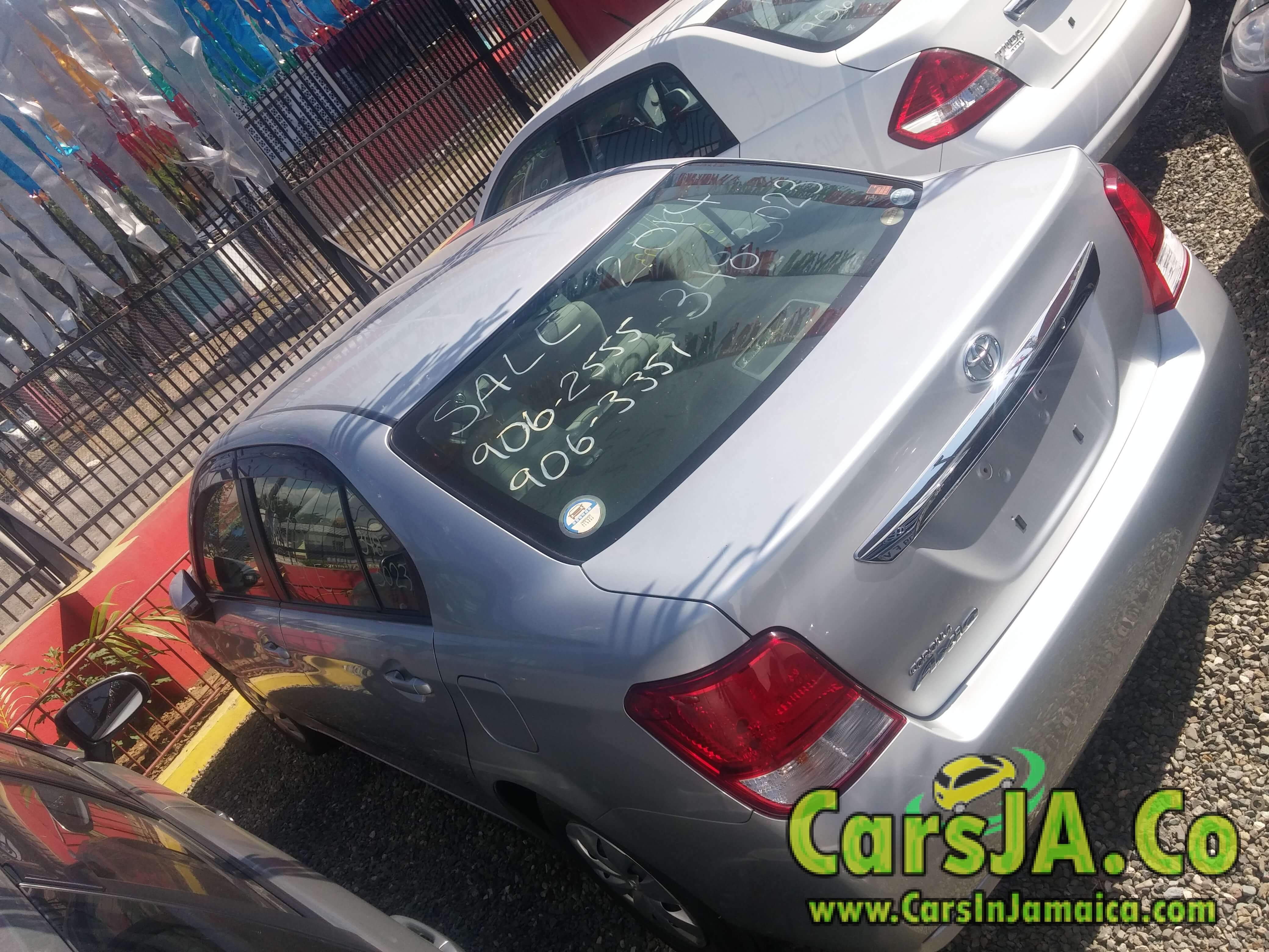 2014 Toyota COROLLA AXIO for Sale In Jamaica