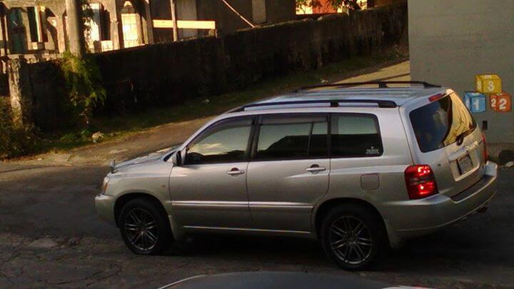 2000 Toyota Highlander for Sale In Jamaica