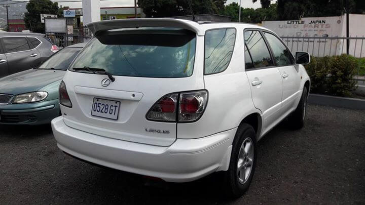2000 Toyota Harrier for Sale In Jamaica